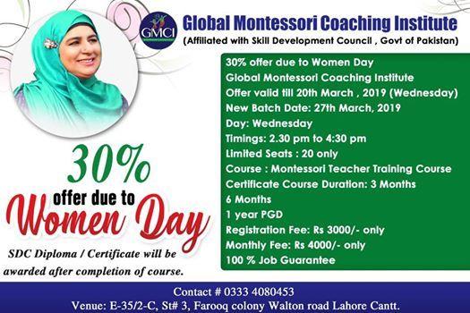 Montessori Teachers Training Course
