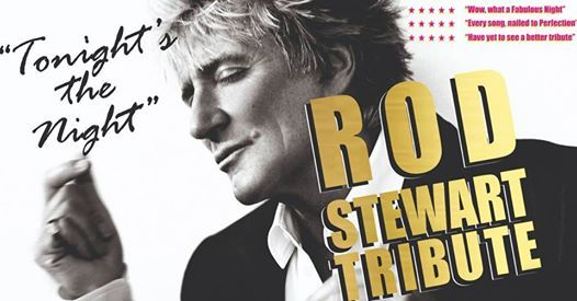 Rod Stewart Tribute - Main-Course & Show 32.50