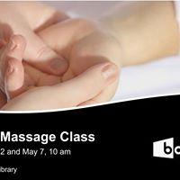 Sensory Massage Class