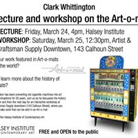 Clark Whittington Lecture &amp Workshop