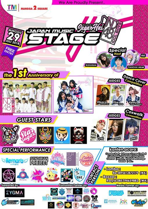 JAPAN MUSIC STAGE