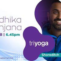 Kirtan London at Triyoga Shoreditch with Radhika Ranjana