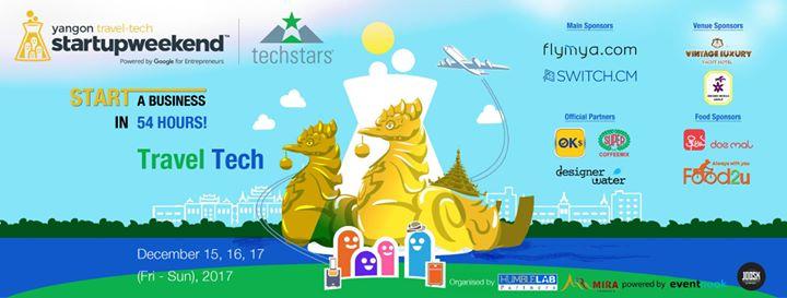 Startup Weekend Yangon - Travel Tech