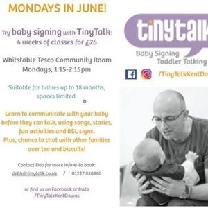 Baby Signing - Mondays in June