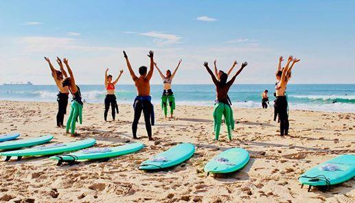 Yoga & Surf afternoon