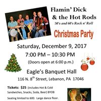 Annual Christmas Party at the Eagles Banquet Hall