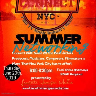 TV Film & Music Industry Networking Event  Red Hot Summer N Y C