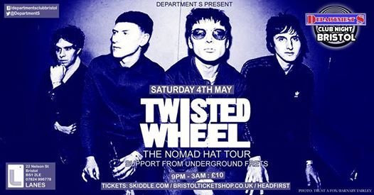 Dept S Club Night  Twisted Wheel