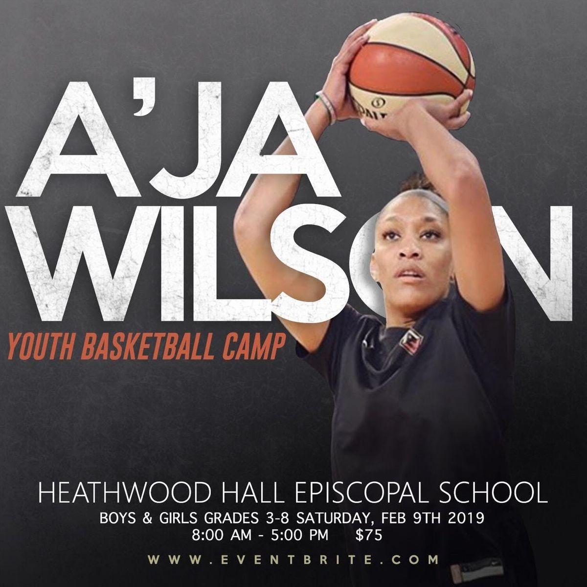 Aja Wilson Youth Basketball Camp