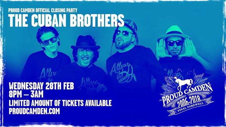 Official Closing Party with The Cuban Brothers
