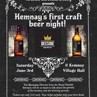 Kemnay Craft Beer Night