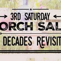 MARCH 17th Porch Sale