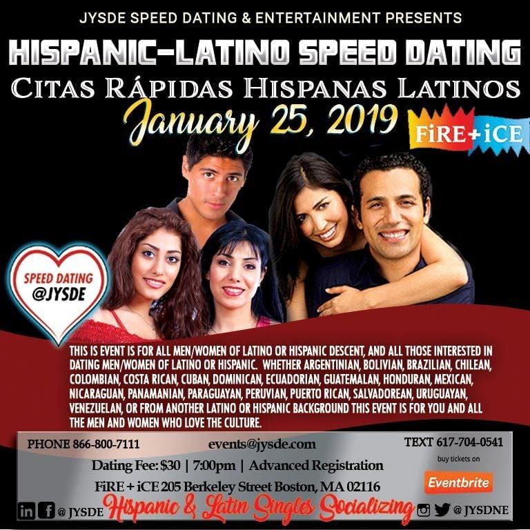 speed dating latin