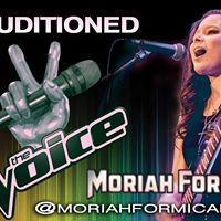 Moriah Formica Blind Audition Watch Party