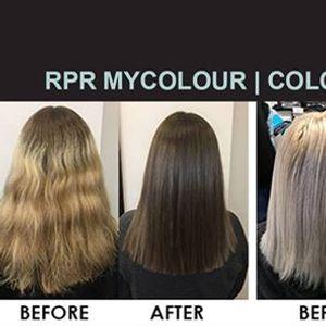 RPR Mycolour  Colour Correction & Foil Placement Techniques