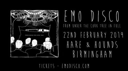 Emo Disco Birmingham - From Under Cork Tree Special