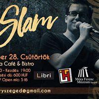 Slam Poetry Szeged Szeptemberi klub I 09.28. I Kapca
