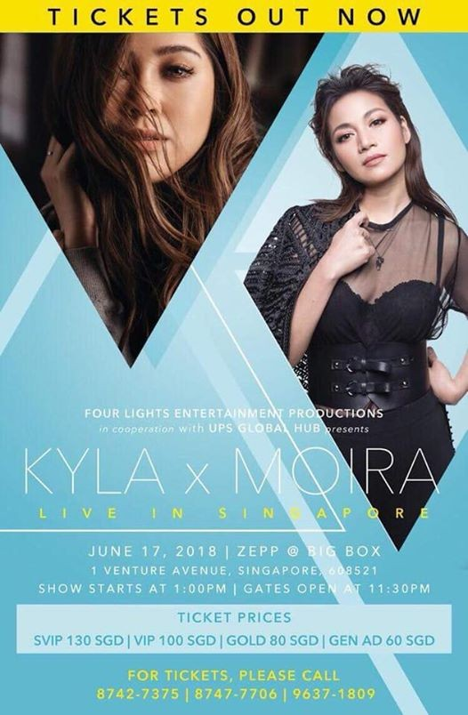 Kyla and Moira Live in Singapore