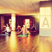 Led ashtanga yoga chanting and meditation