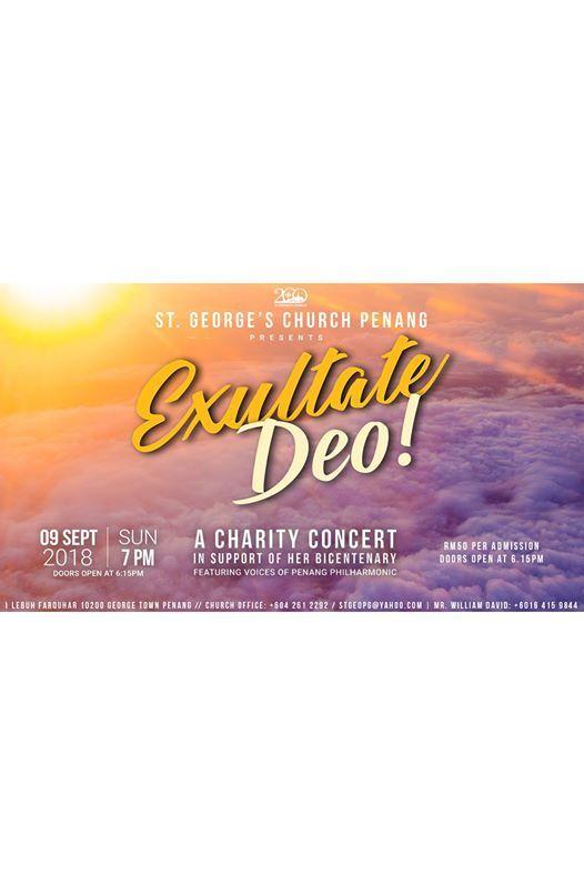Exultate Deo - A Charity Concert