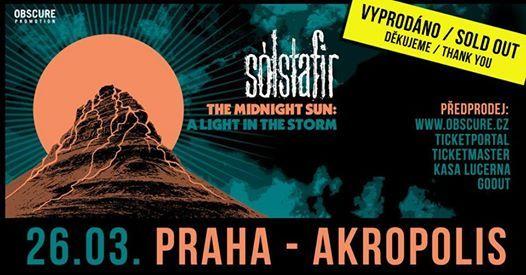 Slstafir - Praha - vyprodno  sold out