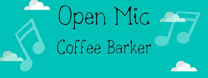 Open Mic At Coffee Barker Launch Night At Coffee Barker