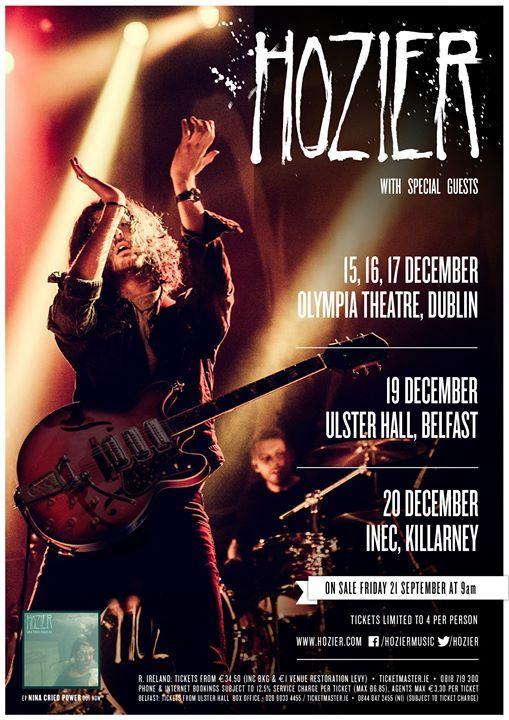 Hozier - The Ulster Hall Belfast