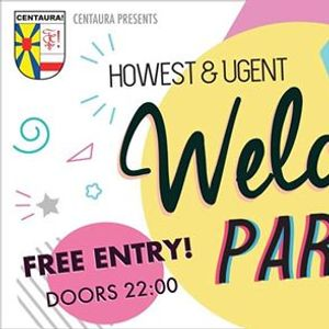 Howest &amp UGent Welcome Party