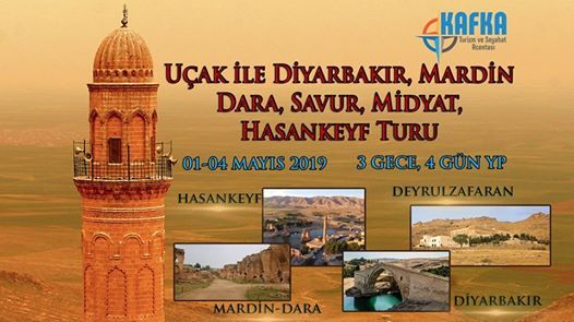 Uak ile Diyarbakr Mardin Dara Savur Midyat Hasankeyf Turu