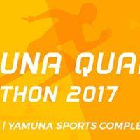 Yamuna Quater Marathon - 2017