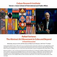 Rafael Soriano The Abstract Art Movement in Cuba and Beyond