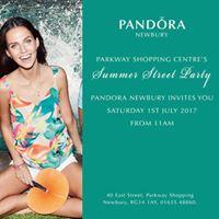 PANDORA Newbury Parkway Summer Street Party