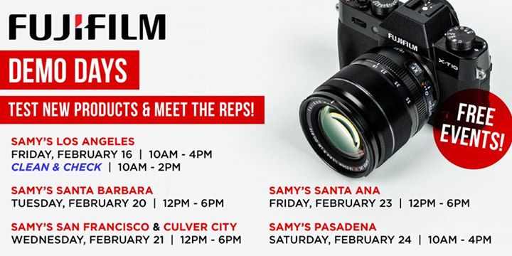 FujiFilm Demo Days - Santa Ana