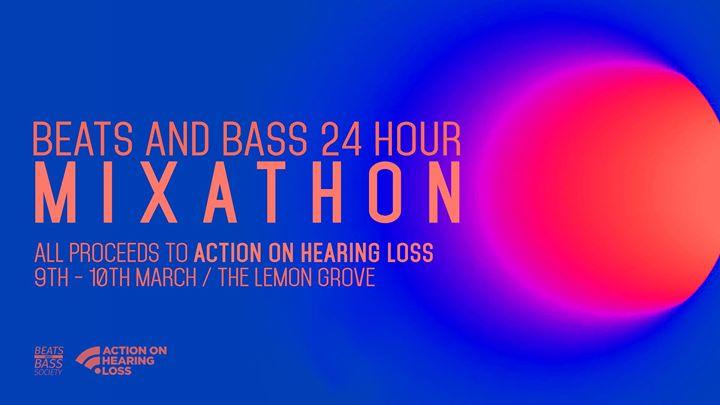 Beats and Bass 24 Hour Charity Mixathon