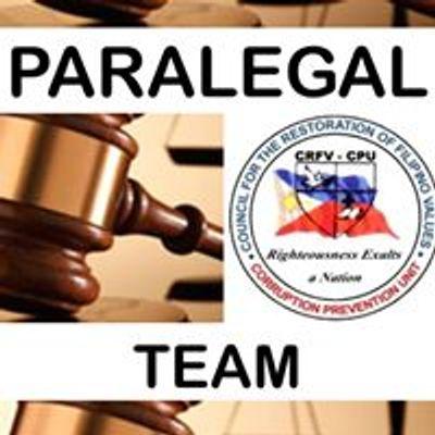 CRFV Paralegal Team
