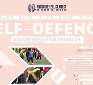 Self-Defence Awareness for Females 2018