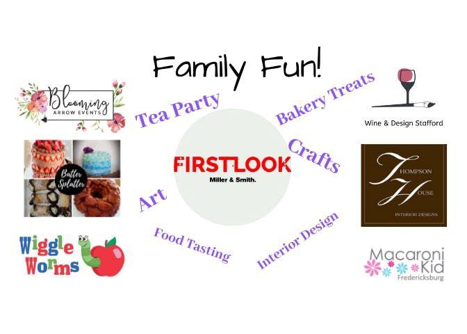 Tea Party Crafts Art Food Tasting Bakery Samples & Family Fun