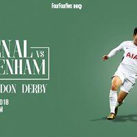 FFT HQ Arsenal vs Tottenham Hotspur LIVE