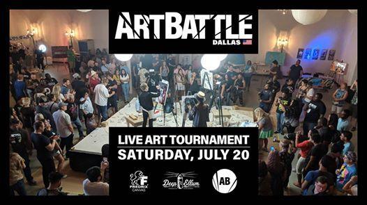 Art Battle Dallas - July 20 2019