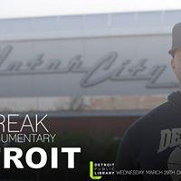 SkyBreak Documentary Detroit Screening  Q&ampA with Zo