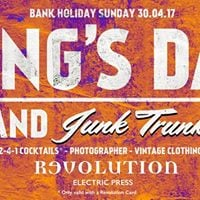 Kings Day Junk Trunk at Revolution Electric Press