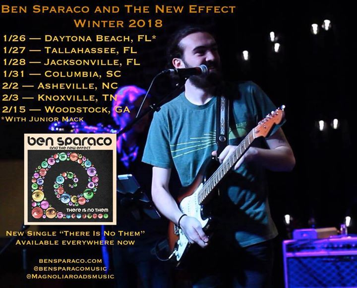 Ben Sparaco and The New Effect at New Brookland Tavern  61d857502f