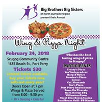 Annual Wing and Pizza Fundraiser Night