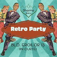 Dancing together  Retro Party