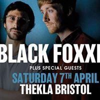 Black Foxxes at Thekla  Bristol