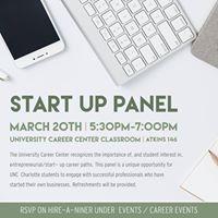 Start Up Panel