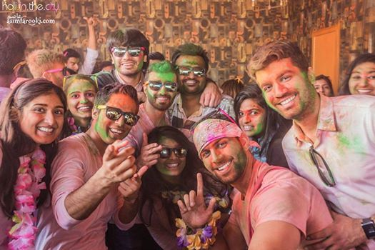 Holi Festival of Colors Day Party