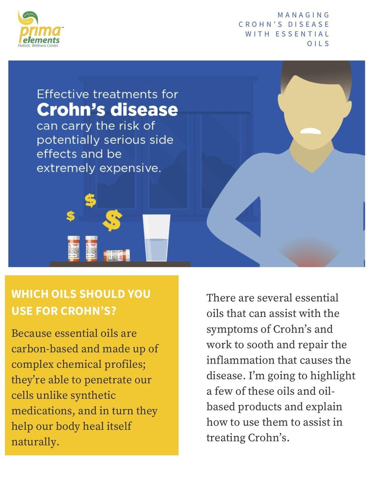 picture How to Manage Crohn's Disease at Work