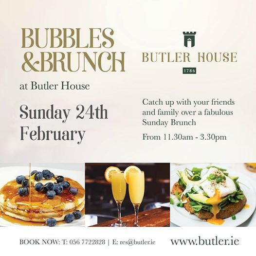 Bubbles & Brunch at Butler House