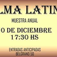 ALMA Latina Muestra ANUAL